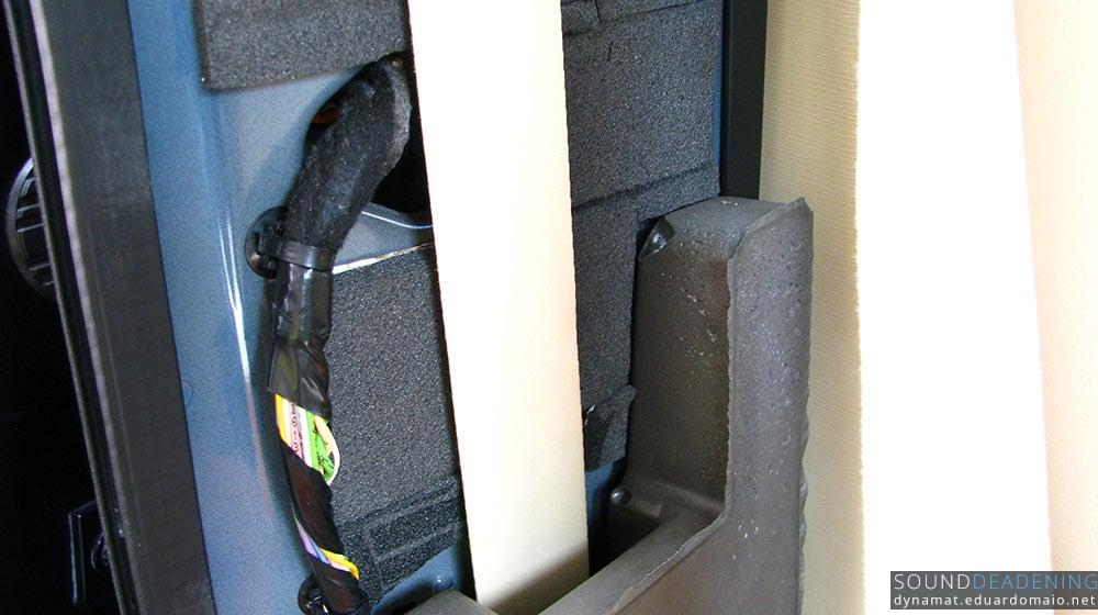 Dynaliner and the factory deadening foam