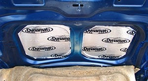 Adding Dynamat to the bonnet