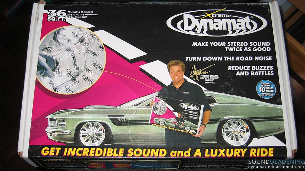 Dynamat Extreme bulk pack with Chip Foose