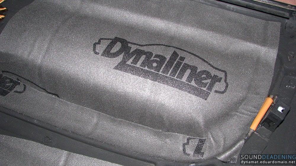 Dynaliner on the door card